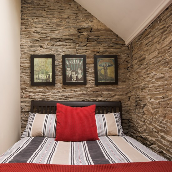 Exposed Brick Bedroom Design Sensual Bedroom Paint Colors Master Bedroom Accent Wall Bedroom Curtains Harry Corry: Exposed Brick And Red Bedroom