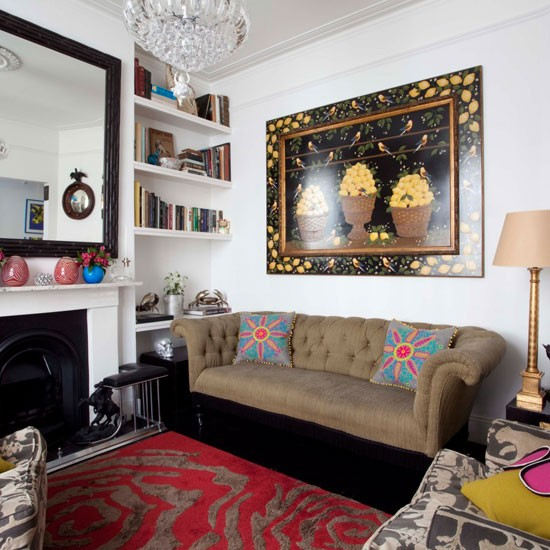 Small Eclectic Living Room Decorating Ideas: Ways To Decorate Small Living Rooms