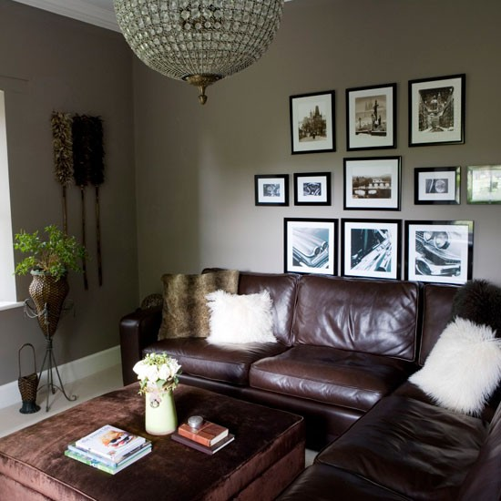 Dark Grey Living Room: Modern Country Style: The Best Grey Front Door Paint Colours