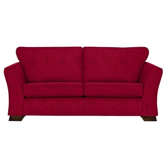 Red sofa from marks spencer budget sofas housetohome - Marks and spencer living room ideas ...