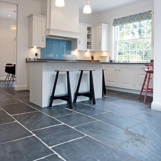 Blue Kitchen Flooring Ideas: Kitchen Flooring Ideas