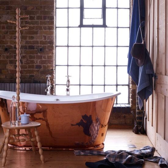 Rustic Masculine Bathroom