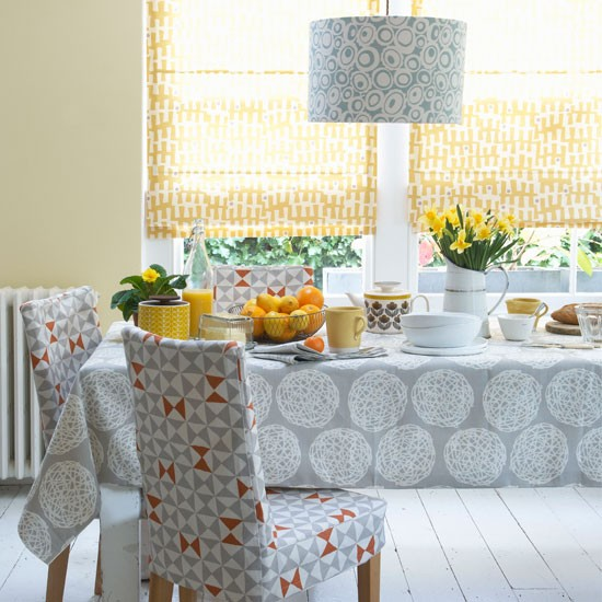 20 Ways To Decorate With Orange And Yellow: How To Decorate With Yellow And