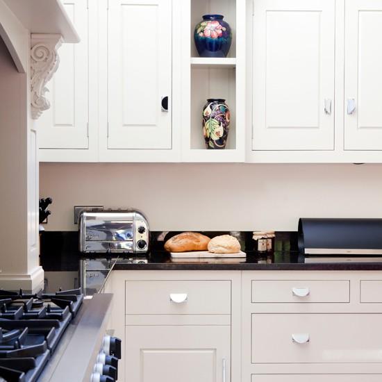 Housetohome Co Uk: White And Granite Worktop Kitchen