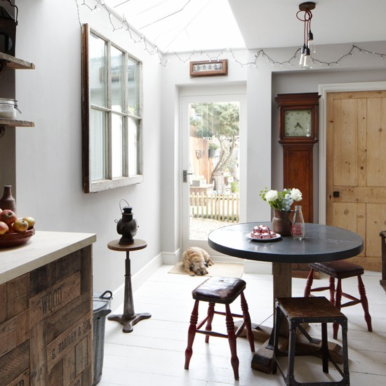 Rustic And Quirky Kitchen-diner