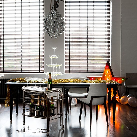 New Year's Eve dining room ideas | housetohome.co.uk