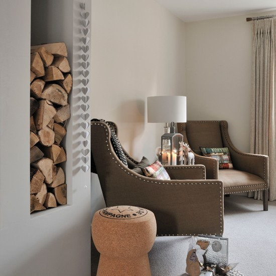 Living Room Design Ideas In Brown And Beige: Cream And Beige Living Room