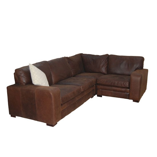 Country Leather Sofa: Sloane Leather Corner Sofa From Darlings Of Chelsea