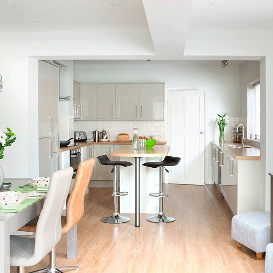 Open Plan Kitchen Diner: Take A Tour Of This Light And Modern Kitchen