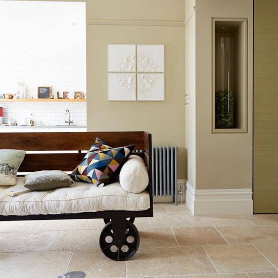 fun contemporary living room neutral living room. Black Bedroom Furniture Sets. Home Design Ideas