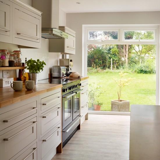 House Beautiful Kitchen: Neutral Scandi-style Kitchen