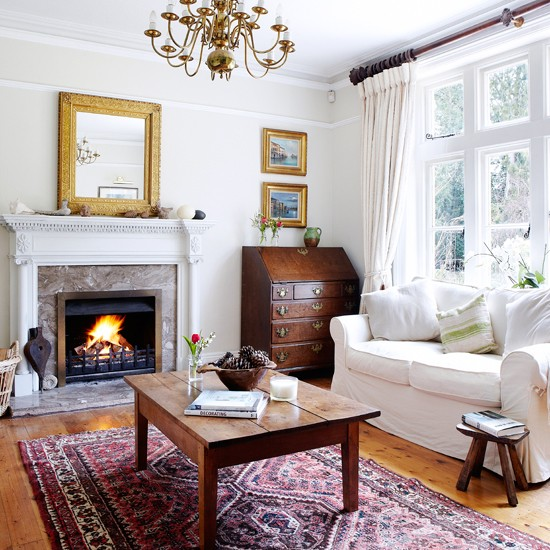 Country House Living Room: Living Room Decorating
