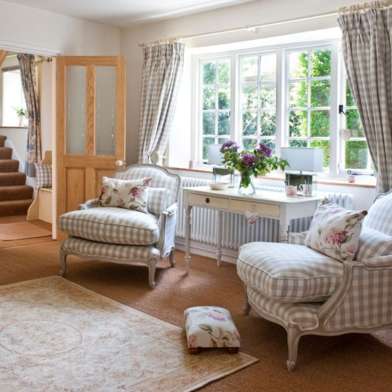 French style living room summer living room ideas - Country chic living room furniture ...