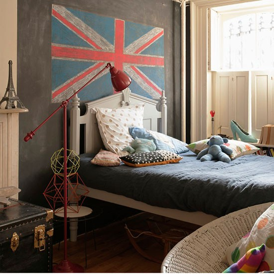 Child S Room: Child's Room With Union Jack