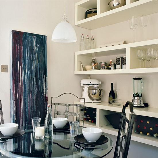 Boxed kitchen wall shelves | Kitchen shelving ...