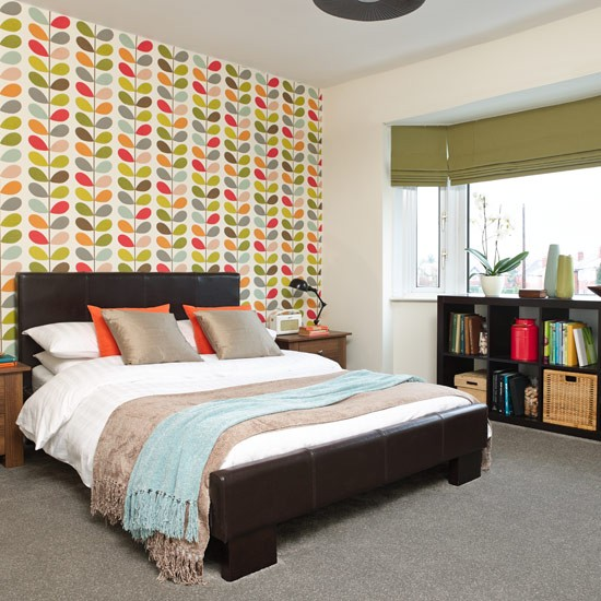 Retro Bedroom Design Ideas Bedroom Ideas Grey And Red Bedroom Decor Posters Country Bedrooms For Girls: Feature Bedroom Wallpaper