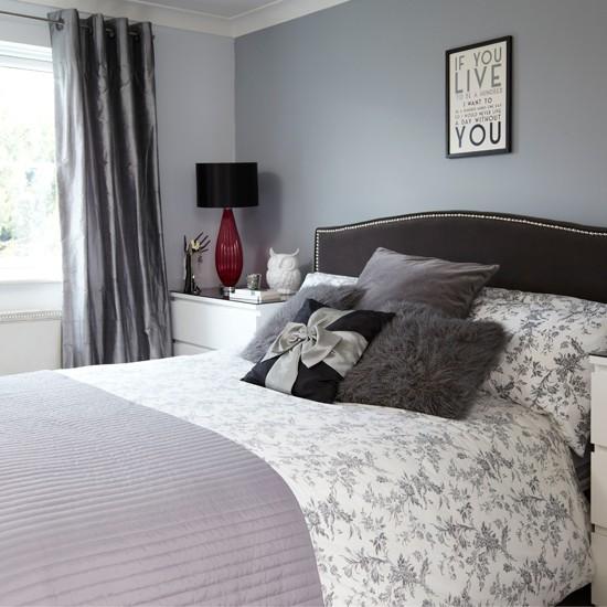 grey and black bedroom bedroom decorating. Black Bedroom Furniture Sets. Home Design Ideas