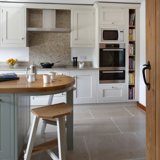 Shaker Style Kitchen Ideas: White Shaker-style Kitchen
