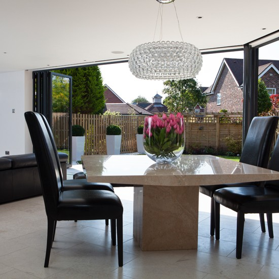 Dining Room Table Extension: Marble Dining Room Extension