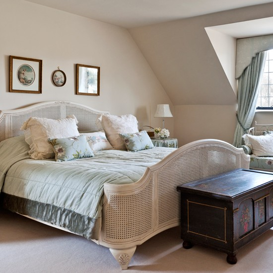 Country Bedrooms: Cream French Country Bedroom
