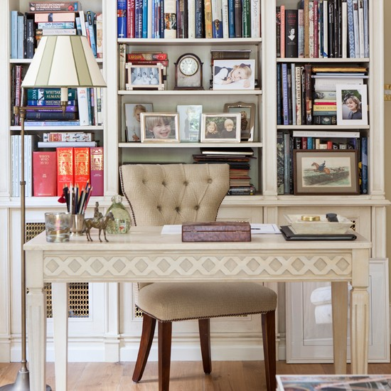 Traditional Home Office Design Ideas: Home Office Decorating Ideas