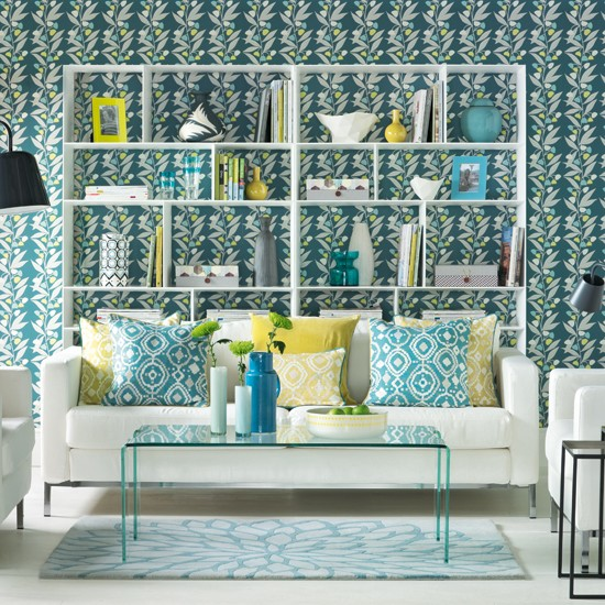Get Inspired With These Amazing Living Rooms Decor Ideas: 20 Sumptomous Living Room Wallpaper Designs