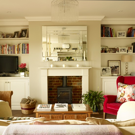 Lounge Storage Ideas: Living Room Alcove Storage