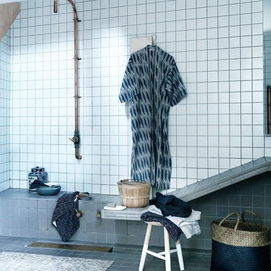 Housetohome Co Uk: Blue And White Wetroom