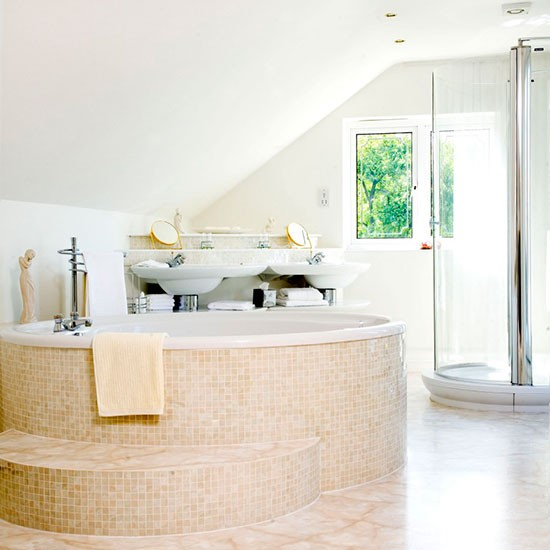 Spa Look Bathrooms: Hotel-style Bathrooms Ideas