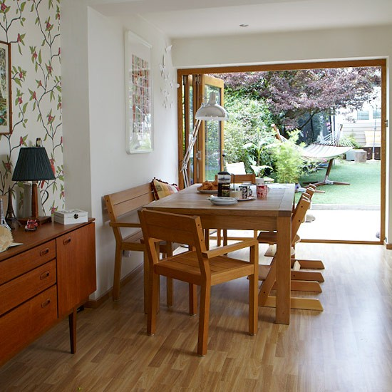Small Dining Area Ideas: Take A Tour Around A Stylish 1960s Terrace