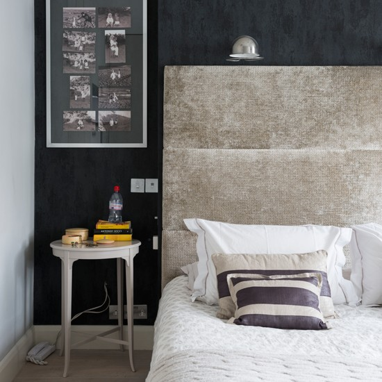 Bedroom Decorating Ideas Black And Grey Bedroom Theme Ideas Bedroom Furniture Colour White Boy Bedroom: Black And Grey Textured Bedroom