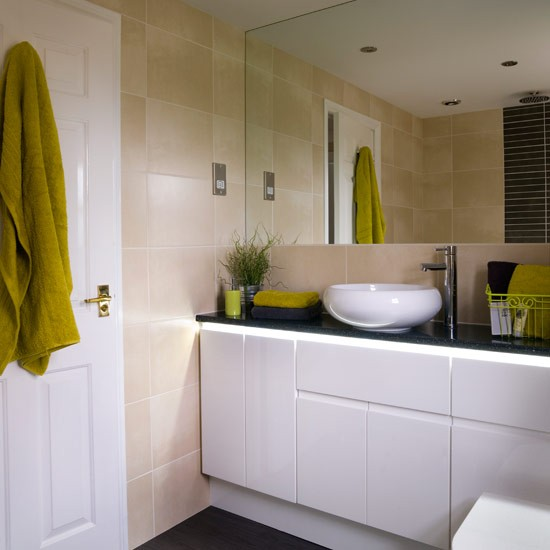 Bathroom With Built-in Units