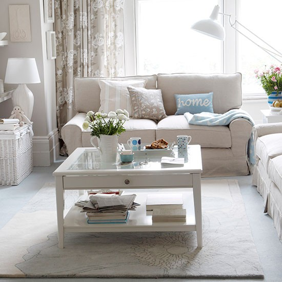 Neutral Living Room Ideas: Calm And Classic Seating Area