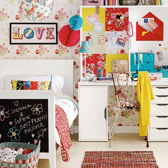 Boho Kids Rooms: Boho Chic Children's Bedroom