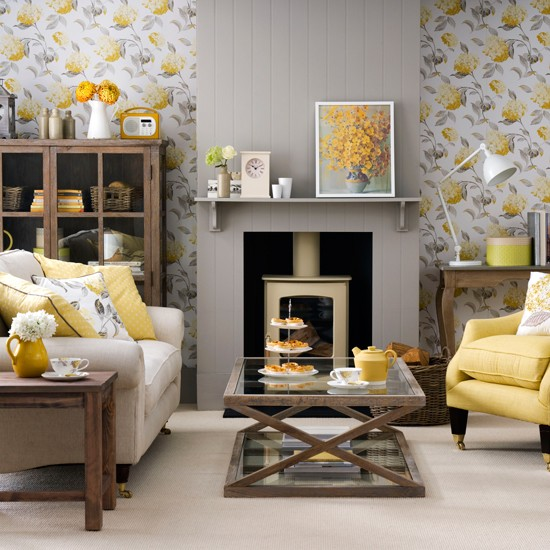 grey and yellow living room grey and yellow colour schemes. Black Bedroom Furniture Sets. Home Design Ideas