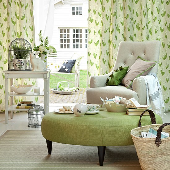 Cool Living Room Interior Design: Decorating With Country Colours