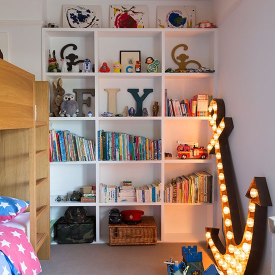 children 39 s fitted bookcase children 39 s bedroom ideas. Black Bedroom Furniture Sets. Home Design Ideas