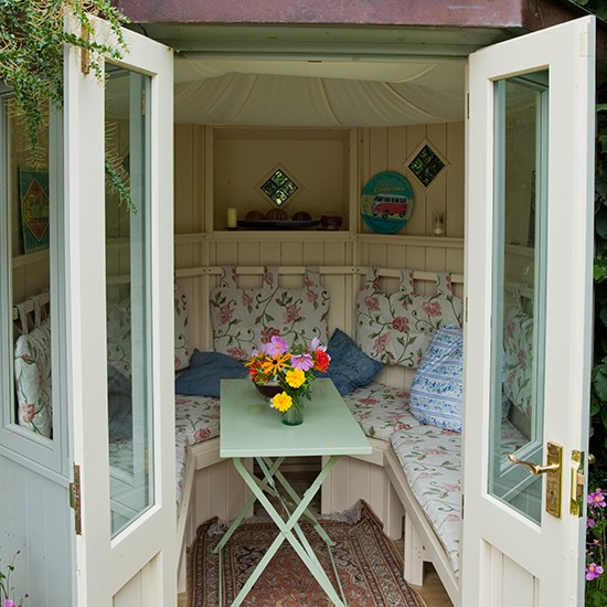 20 Summer House Design Ideas: Country Garden Design Ideas