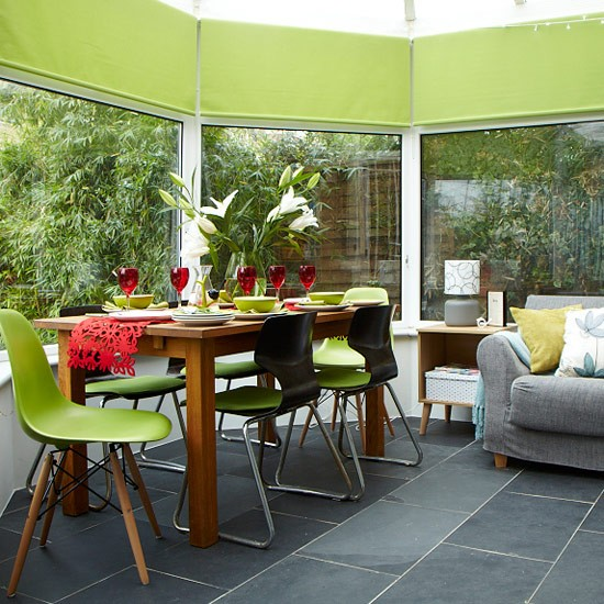 Colourful Conservatory Summer Decorating Ideas