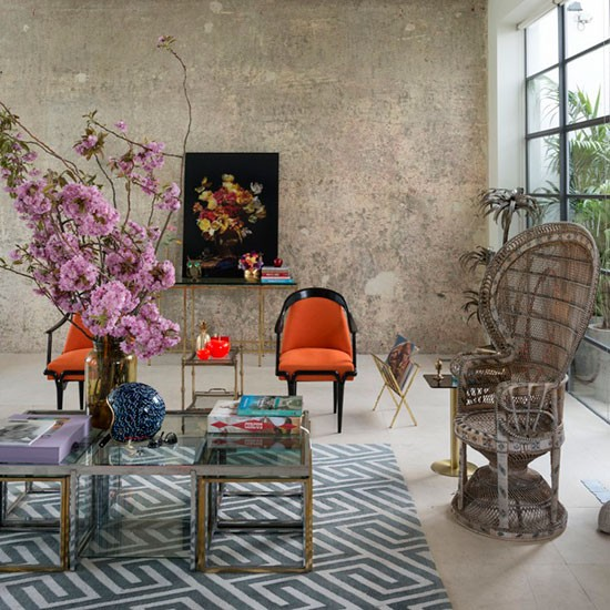 Step Inside A Glamorous Urban Chic Home In North London