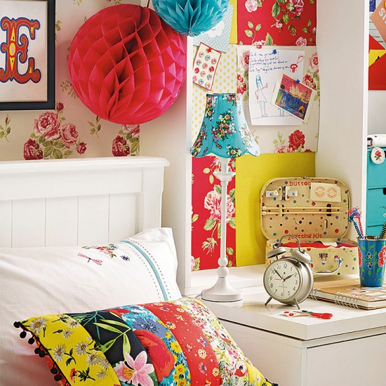 Brightly Coloured Bedroom