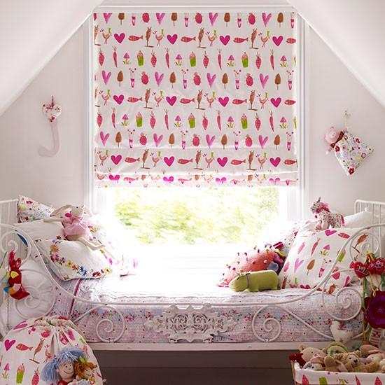 Childrens Bedroom Blinds Grey Bedroom Lighting Build In Bedroom Cupboards Victorian Bedroom Ideas: Girl's Bedroom Blind