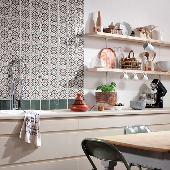 Tile Splashback Kitchen Cleaning