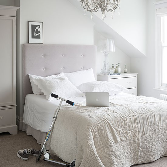 Elegant Bedrooms Rooms: Elegant White Bedroom