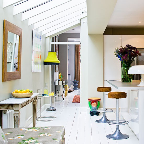Eclectic Kitchens: White Eclectic Kitchen