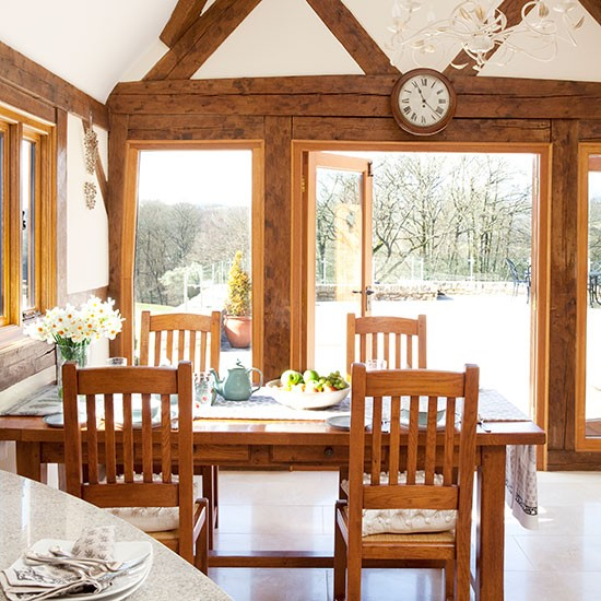 Oak-framed Country Dining Room