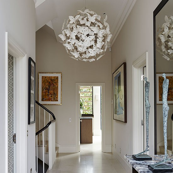 Hallway Light: Take A Tour Around This Stylish London Home