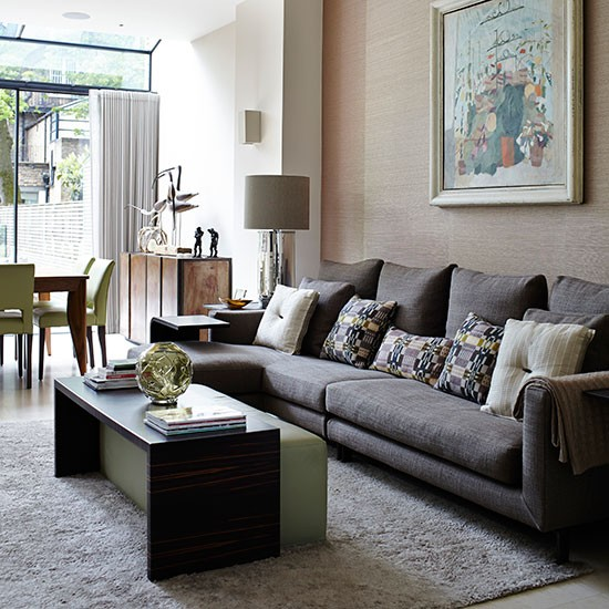 Classic Open-plan Living Room