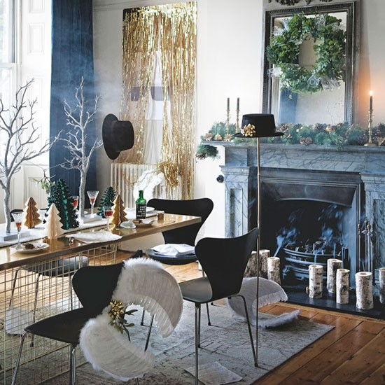 10 Modern And Minimalist Dining Room Design Ideas: Simple Christmas Dining Room Colour Scheme