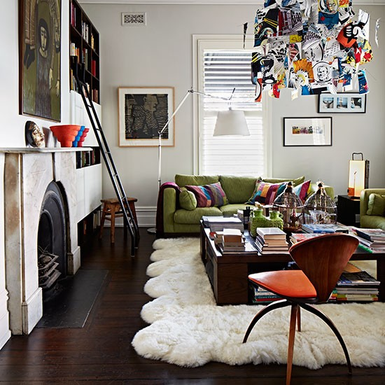 Small Eclectic Living Rooms: Quirky Living Room Furniture
